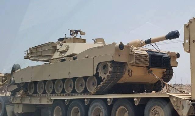 دبابة القتال الرئيسة M1A2S Abrams المطوّرة