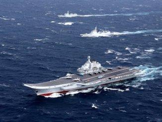 حاملة الطائرات الصينية Liaoning