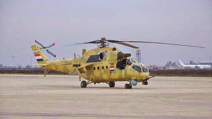 مروحية مي-35 عراقية