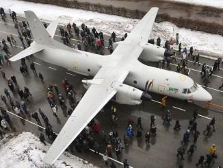 طائرة أنتونوف السعودية