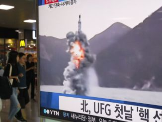 اختبار صاروخ كوري شمالي