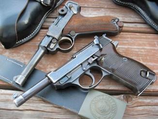 مسدسان من نوع Walther P.38