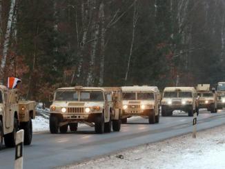 وصول التعزيزات العسكرية الأميركية إلى بولندا