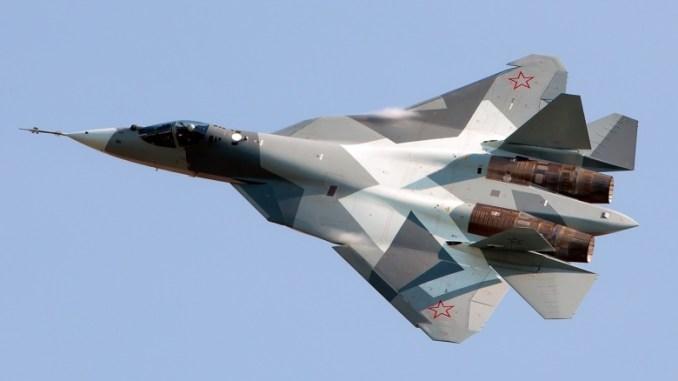 """مقاتلة الجيل الخامس الروسية """"تي-50"""""""