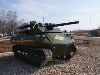 دبابة Uran-9 الروسية