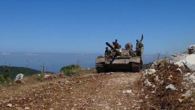 مركبة عسكرية في سوريا