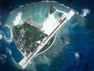 جزيرة في بحر الصين الجنوبي