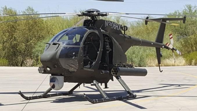 مروحية AH-6i للحرس الوطني السعودي