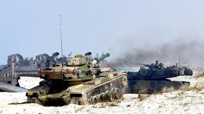 مناورات عسكرية أميركية مصرية مشتركة