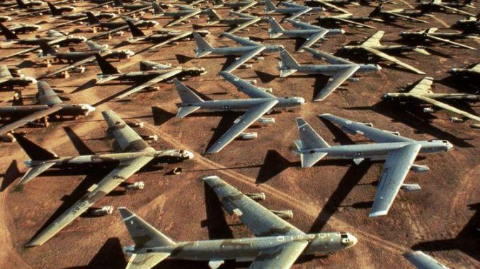 مقبرة الطائرات في ولاية أريزونا