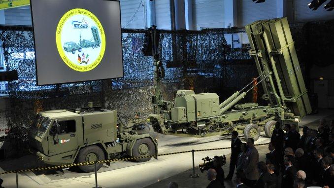 """نظام الصواريخ الدفاعية الأميركي """"ميدز"""""""