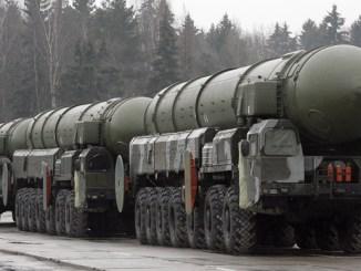 صواريخ توبول الباليستية الروسية