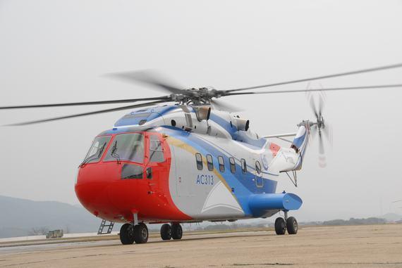 مروحية AC313 الصينية