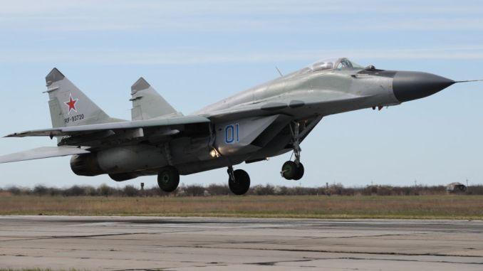 مقاتلة ميغ 29 الروسية