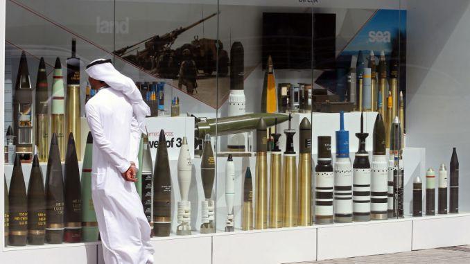 قذائف من معرض آيدكس 2017 في أبوظبي