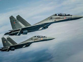 مقاتلتان من نوع Su-30MKI