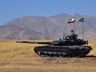 """أول دبابة إيرانية محلية الصنع """"كرار"""""""