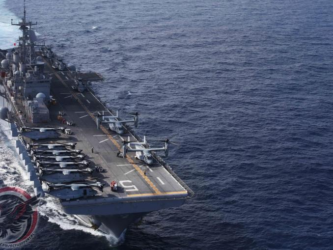 سفينة الهجوم البرمائي USS Bataan