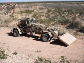 مركبة Husky 2G لكشف الألغام والعبوات الناسفة