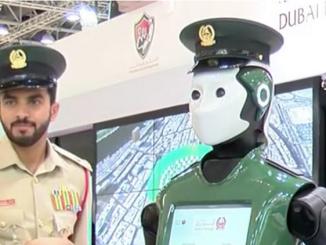 """ضابط """"روبوت"""""""