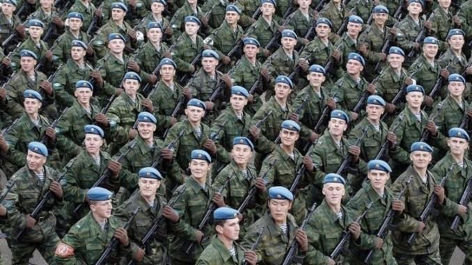 وحدة من الجيش الروسي