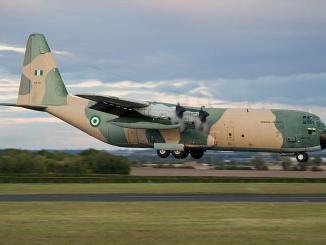 طائرة C-130H Hercules النيجيرية