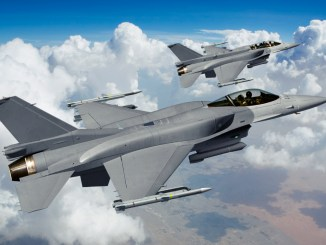 مقاتلتا إف-16 الأميركية