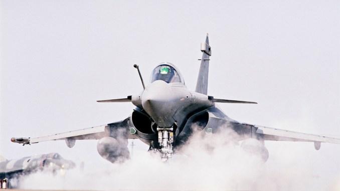 مقاتلة رافال الفرنسية