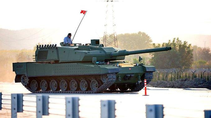 """دبابة """"ألتاي"""" التركية"""