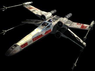 """الطائرة المقاتلة من فيلم """"حرب النجوم"""""""