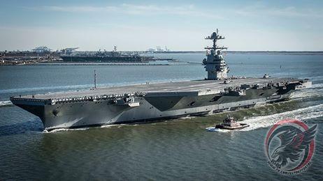 """حاملة الطائرات الأميركية من الجيل الجديد """"يو أس أس جيرالد فورد"""""""