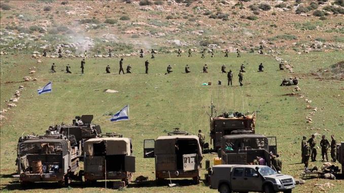 تدريبات عسكرية إسرائيلية