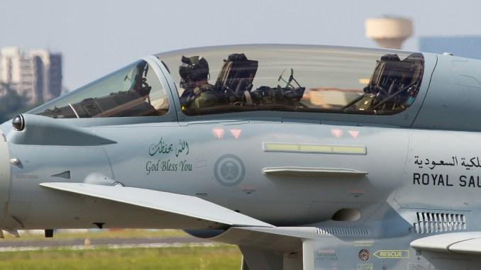 مقاتلة يوروفايتر تايفون سعودية
