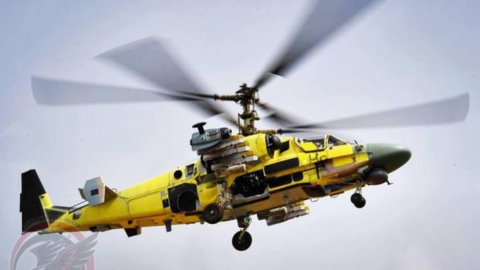 مروحية التمساح Ka-52 Alligator
