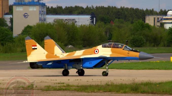 """أحدث صورة لمقاتلة """"ميغ-29/أم2"""" المصرية"""