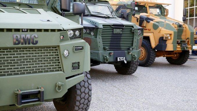 """عربات من إنتاج شركة """"بي إم جي"""" التركية"""