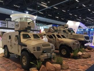 مركبات من إنتاج المؤسسة العامة للصناعات العسكرية السعودية