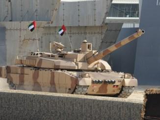 دبابة لوكلير إماراتية