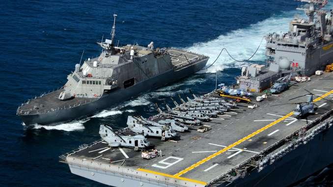 سفن القتال الساحلي الأميركية