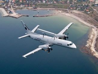 طائرة الإنذار والتحكم Saab 2000