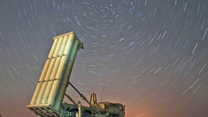 """نظام الدفاع الجوي الصاروخي """"ثاد"""""""