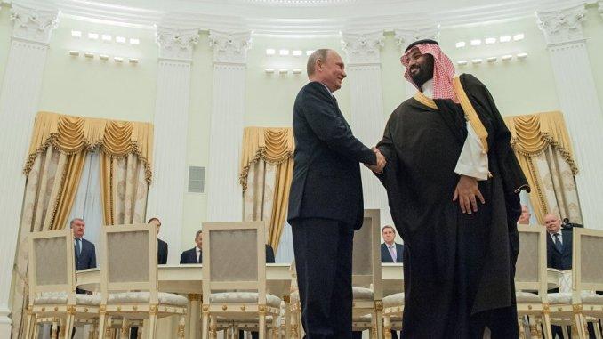 وزير الدفاع السعودي والرئيس الروسي