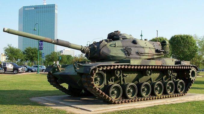 """دبابة """"أم-60 باتون"""" الأميركية"""
