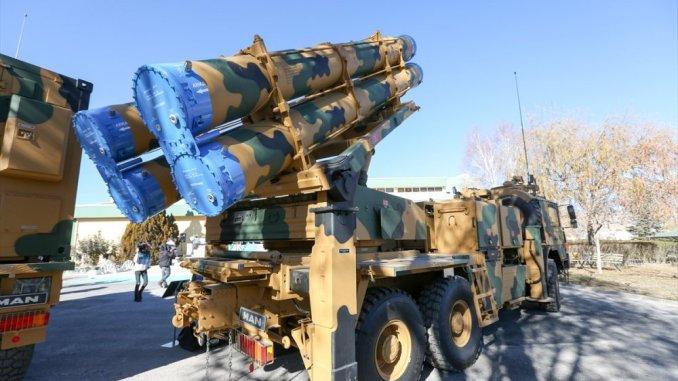 منظومة صواريخ تركية