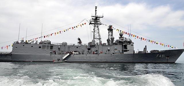 """السفينة الحربية """"غريسون"""" (TCG GRESUN)"""
