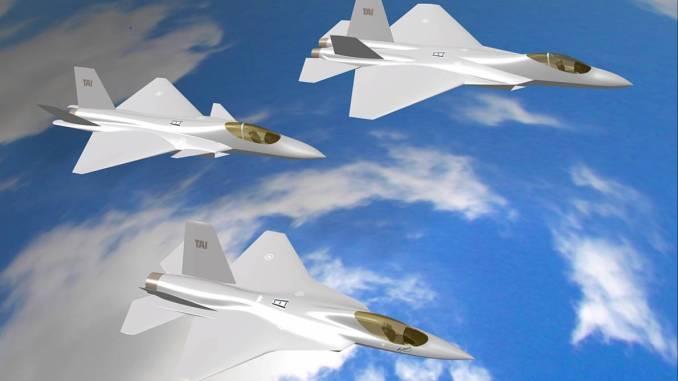 نموذج عن طائرات TF-X التركية
