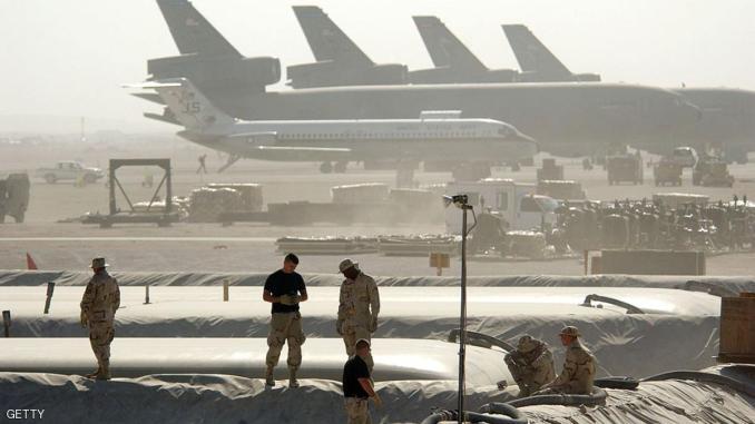 قاعدة العديد العسكرية الأميركية في قطر