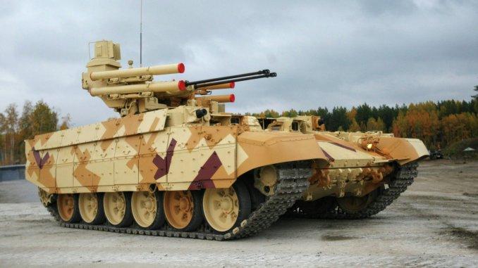 """الدبابة الروسية المدمرة """"تيرميناتور 2"""""""