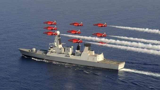 مدمرة HMS Diamond البريطانية