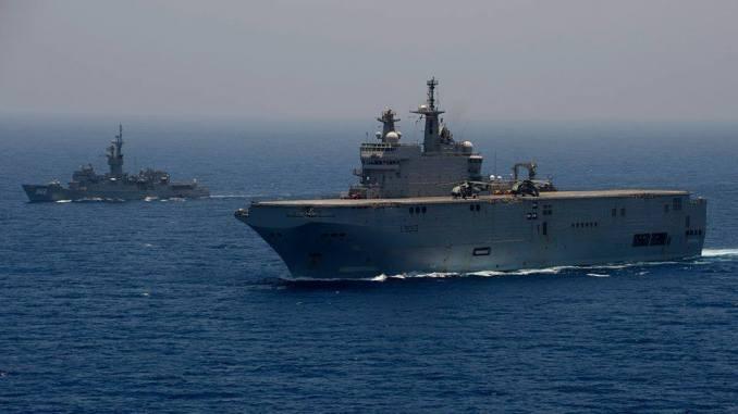 سفينة ميسترال مصرية